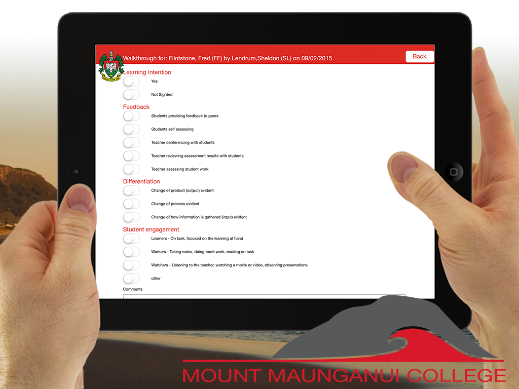 Mount Maunganui College PLD App on iTunes