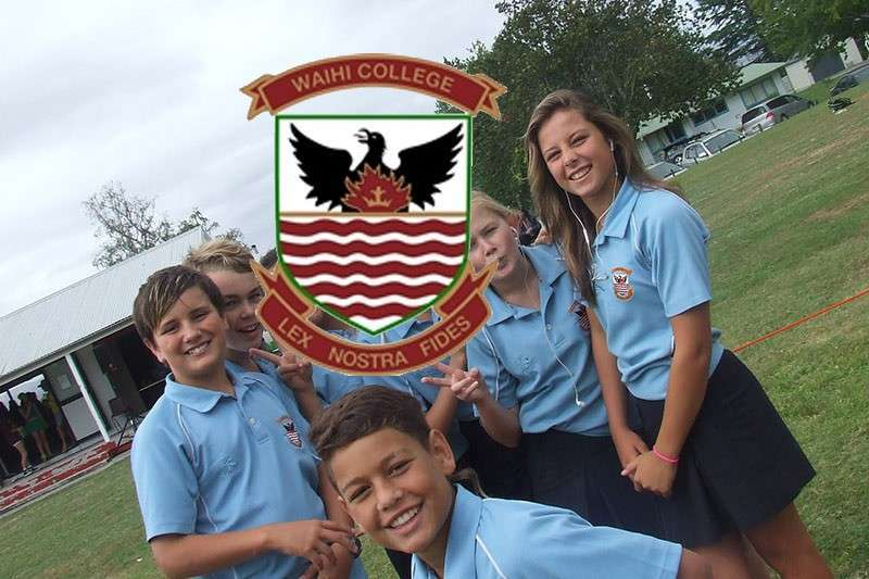 New website launch - Waihi College preview 0