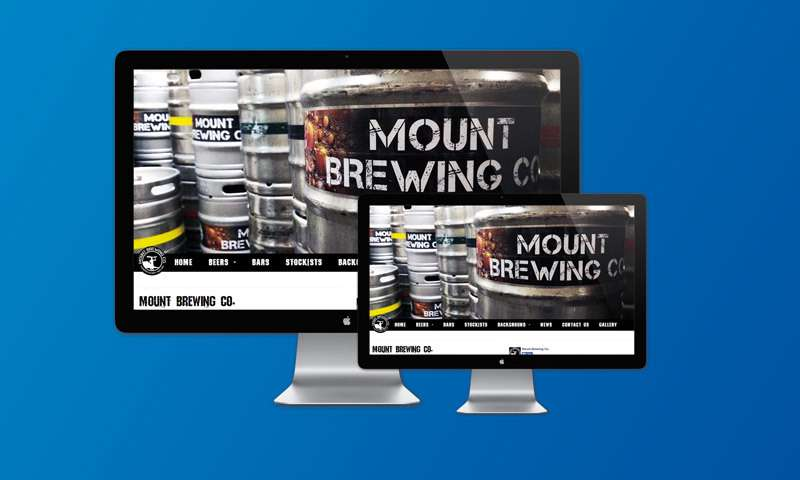Mount Brewing Company Website