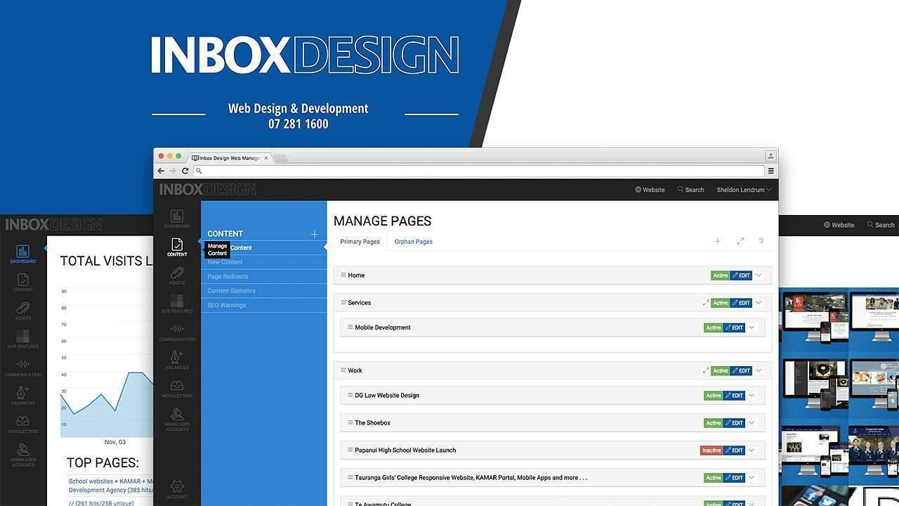 Content Management System Update preview 0