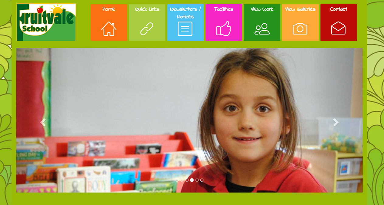 Fruitvale Primary School Website now Live preview 0