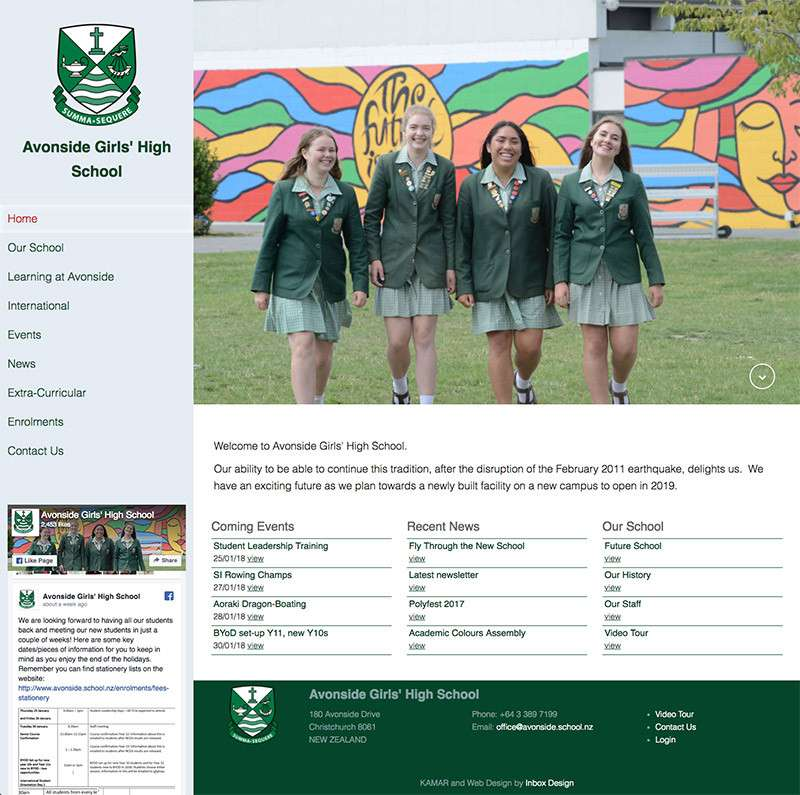 Avonside High School Full