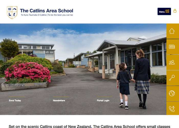 Catlins Area School Thumb