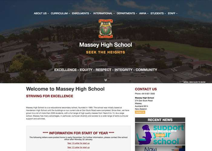Massey High School Thumb