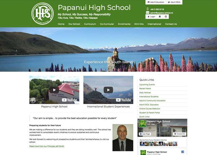 Papanui High School Thumb