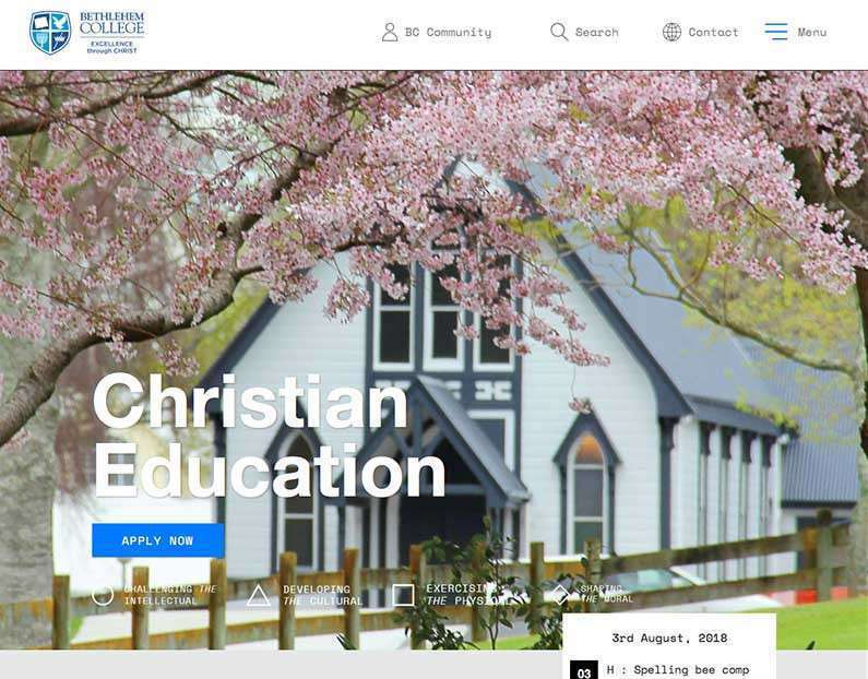 New site for Bethlehem College