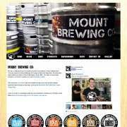 Website Launch: Mount Brewing Co