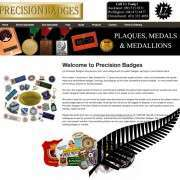 New Site Launched: Precision Badges New Zealand