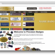 Precision Badges Australia Home
